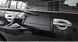 Хромированная накладка ручки двери Nissan Patrol Y62,  Armada 2010-2020, комплект 4шт, фото 3