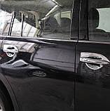 Хромированная накладка ручки двери Nissan Patrol Y62,  Armada 2010-2020, комплект 4шт, фото 5