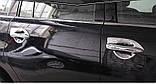 Хромированная накладка ручки двери Nissan Patrol Y62,  Armada 2010-2020, комплект 4шт, фото 9