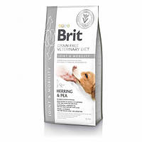 Сухой корм для поддержания сустав собак Brit GF VetDiets Dog Mobility / 12 кг