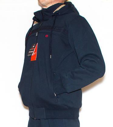 Спортивний костюм з хутром чоловічий 5101 (XL), фото 3