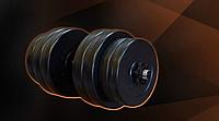 Гантель RN-30 кг з ABS покриттям