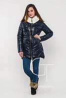 Женская зимняя куртка X-WOYZ! синяя р.44