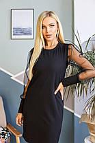 Платье рукав сетка 69806, фото 2