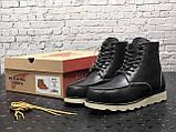 Чоловічі черевики Red Wing в стилі Ред Вінгс НАТУРАЛЬНЕ ХУТРО (Репліка ААА+), фото 7
