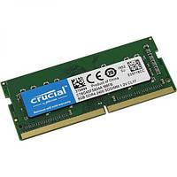Память Crucial SODIMM DDR4 8GB PC4-19200 (2400Mhz), 1.2V CL17, (CT8G4SFS824A)