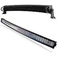 Автофара LED балка на 78 светодиодов LightX 5D-234W автомобильная SPOT дополнительная фара Черный