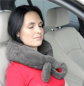 Согревающая дорожная подушка FOX Casada (для шеи в путешествие, в самолет, в дорогу)