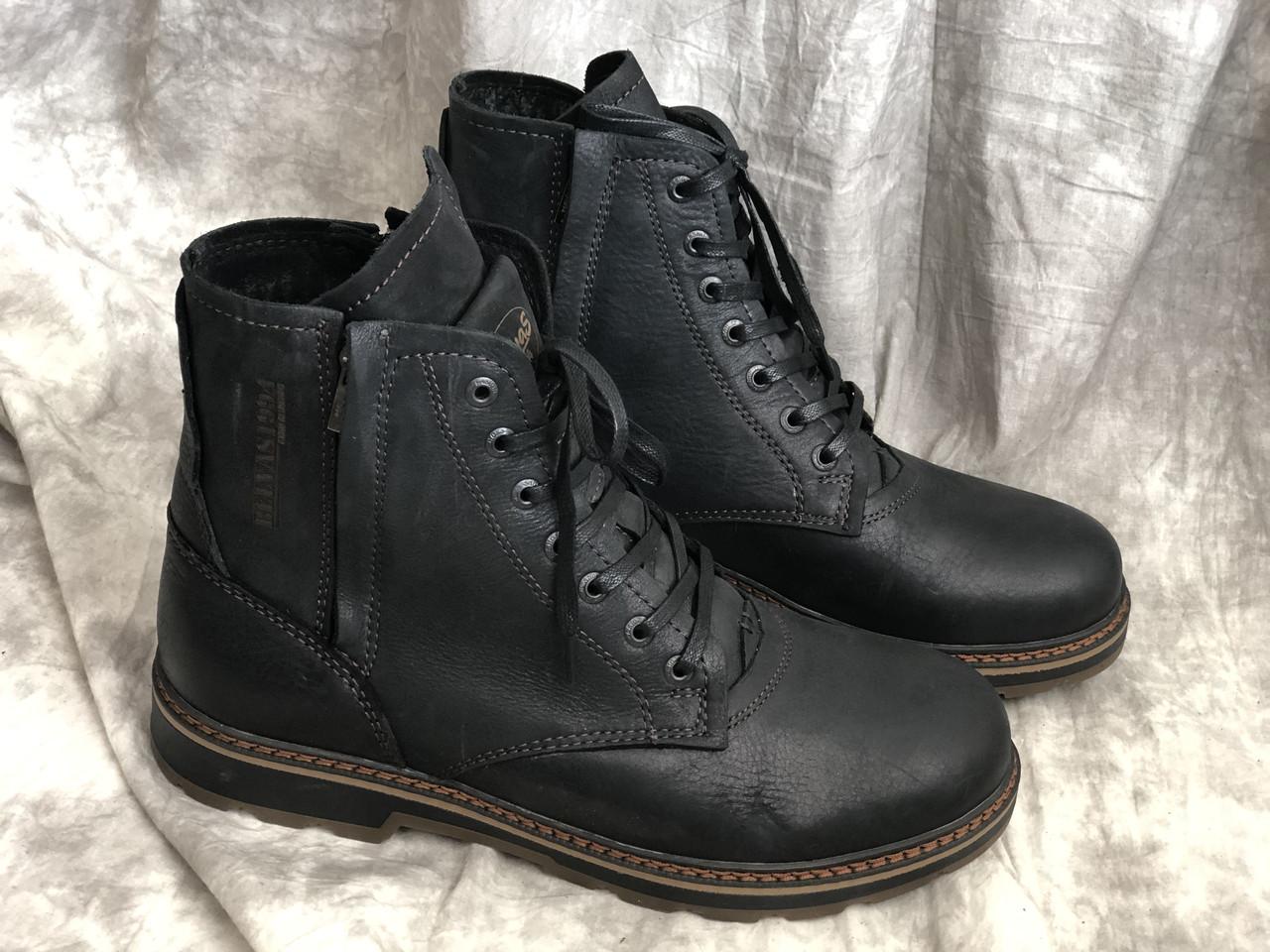 Кожаные мужские ботинки 5507 размеры 41,42,43