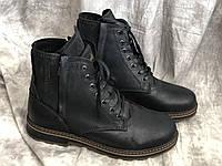 Кожаные мужские ботинки 5507 размеры 41,42,43, фото 1