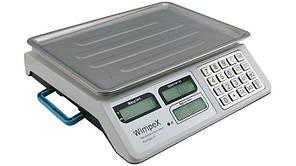 Весы торговые Wimpex WX-5004 до 50 кг платформа 23 х 34.5 см