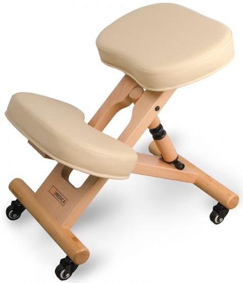 Ортопедичний стілець US MEDICA Zero Mini (США) для правильної постави дітей Бежевий
