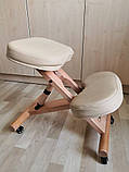Ортопедичний стілець US MEDICA Zero Mini (США) для правильної постави дітей Бежевий, фото 4