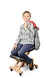 Ортопедичний стілець US MEDICA Zero Mini (США) для правильної постави дітей Бежевий, фото 8