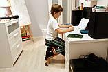 Ортопедичний стілець US MEDICA Zero Mini (США) для правильної постави дітей Бежевий, фото 9