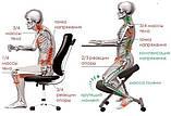 Ортопедичний стілець US MEDICA Zero Mini (США) для правильної постави дітей Бежевий, фото 10