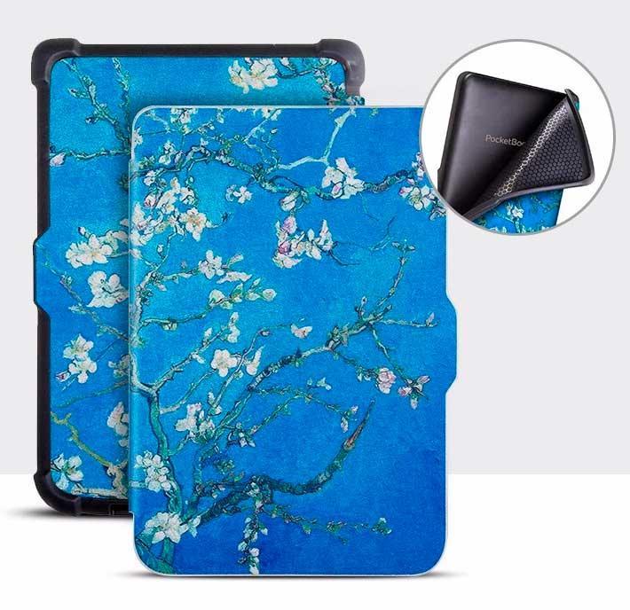 Обкладинка для PocketBook 628 Touch Lux 5 - зображення Колір Мигдалю
