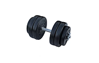 Композитна гантель RN-Sport 14 кг з грифом хром