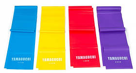 Набор эластичных лент для фитнеса Yamaguchi Band Fіt Япония - ленточный эспандер