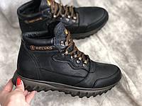 Кожаные мужские ботинки 18129 размеры 41,44, фото 1