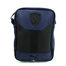 Чоловіча сумка барсетка з логотипом, барсетка мужская маленькая через плечо