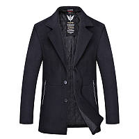 Весна, осень кашемир пальто мужское больших размеров