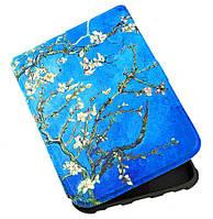 Чехол для PocketBook 606 Black/White с графикой Amandelbloesem – обложка на электронную книгу Покетбук 606, фото 1