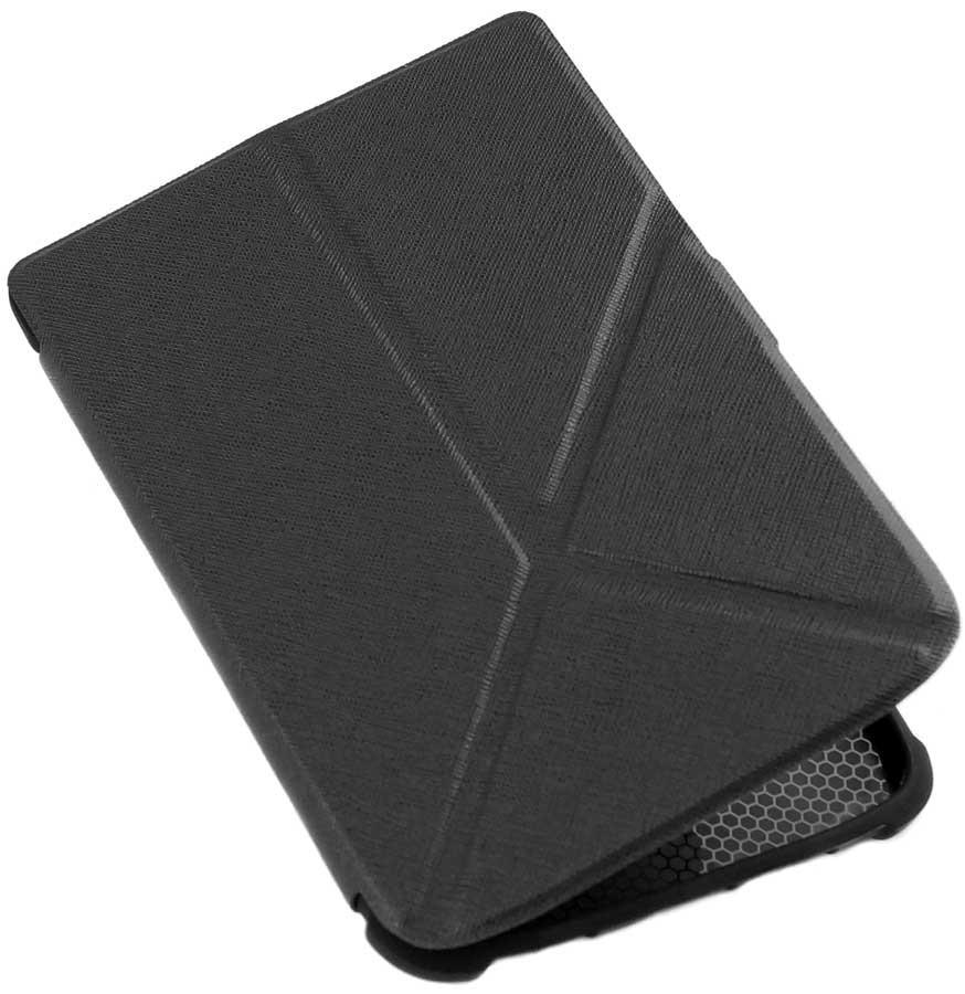 Чехол для PocketBook 606 трансформер черный — обложка на Покетбук