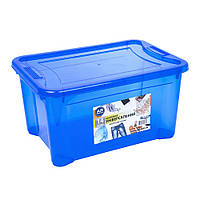 Контейнер Easy Box універсальний, прямокутний, синій, 14 л.