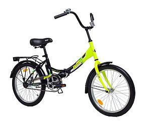 """Велосипед складной AIST SMART 20"""" 1.0 Зеленый"""