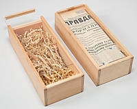 Изготовление подарочных коробок из натурального дерева