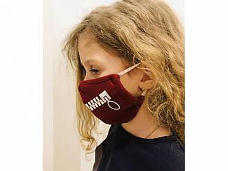 Защитная маска для детей, двухслойная оптом