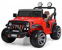 Детский электромобиль Джип M 3673 EBLR-3 красный