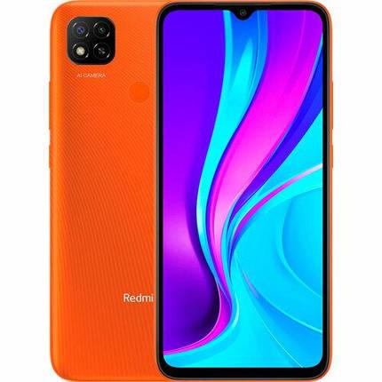 Смартфон Xiaomi Redmi 9C 2/32GB Sunrise Orange UA, фото 2
