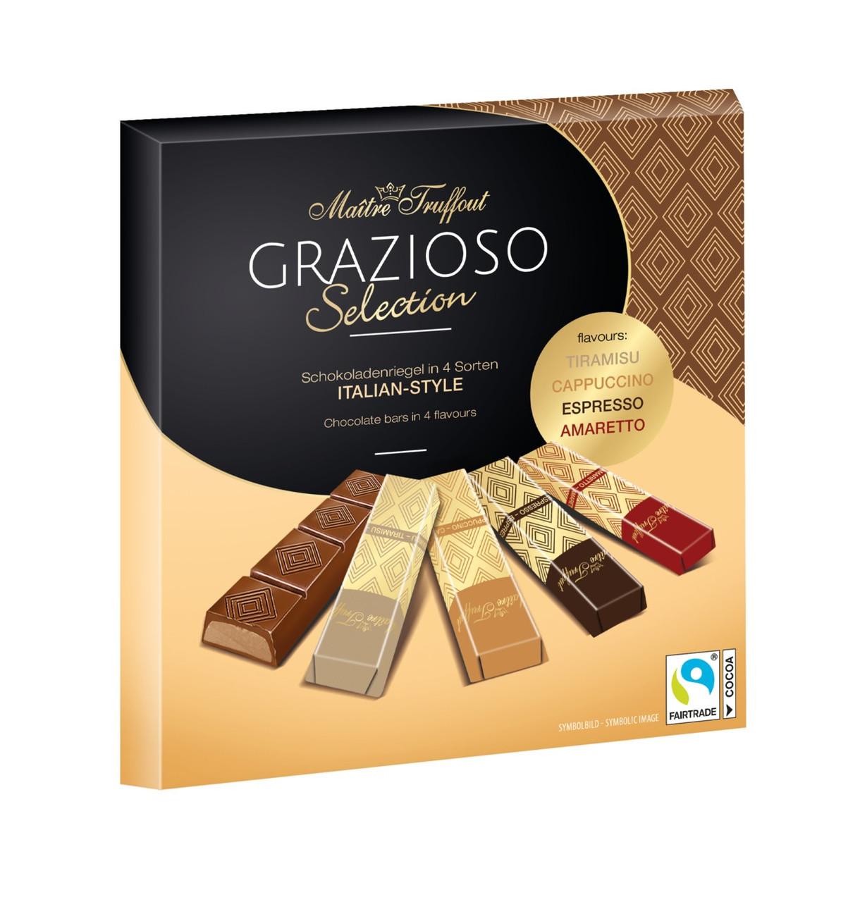 Шоколад ассорти Maitre Truffout Grazioso Selection 200 г Австрия