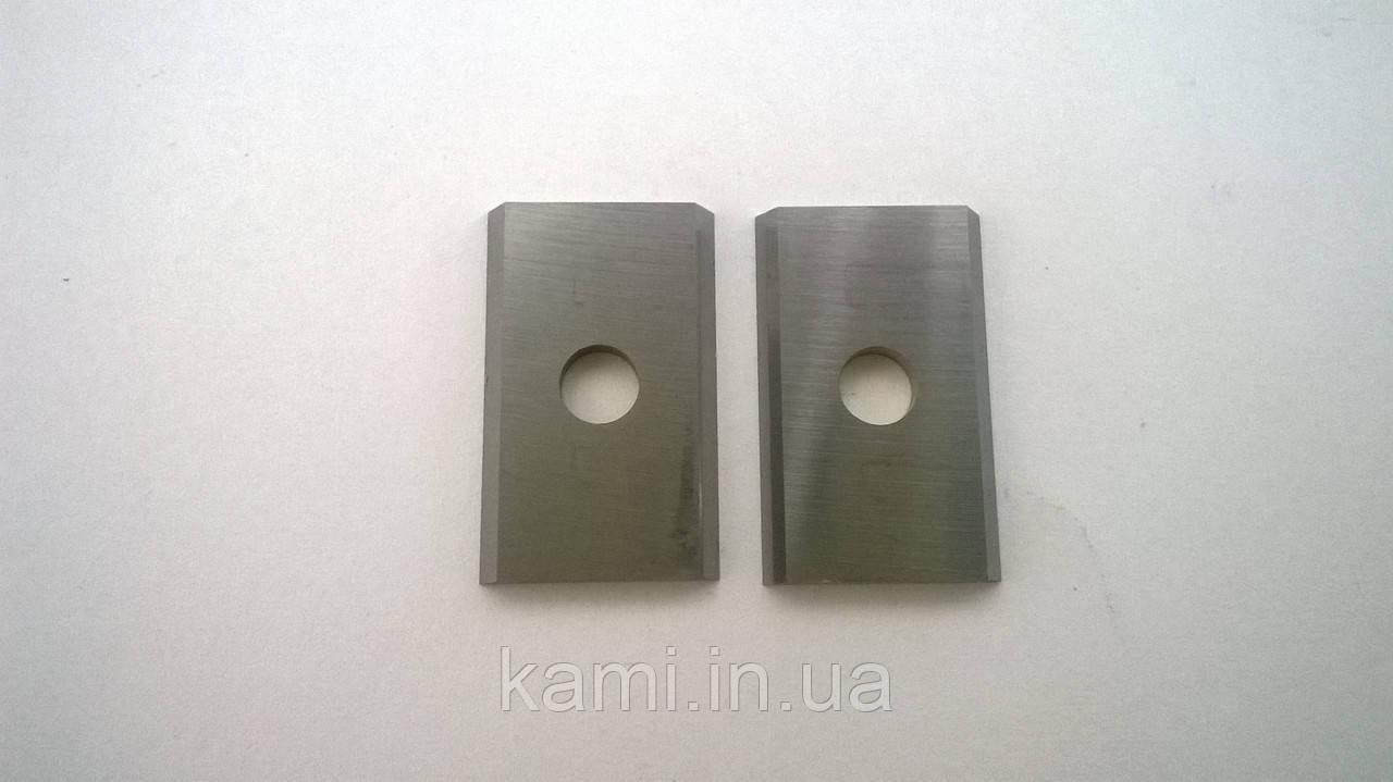 Нож твердосплавный HM, универсальный для дерева 20 х 12 х 1,5 KCR08