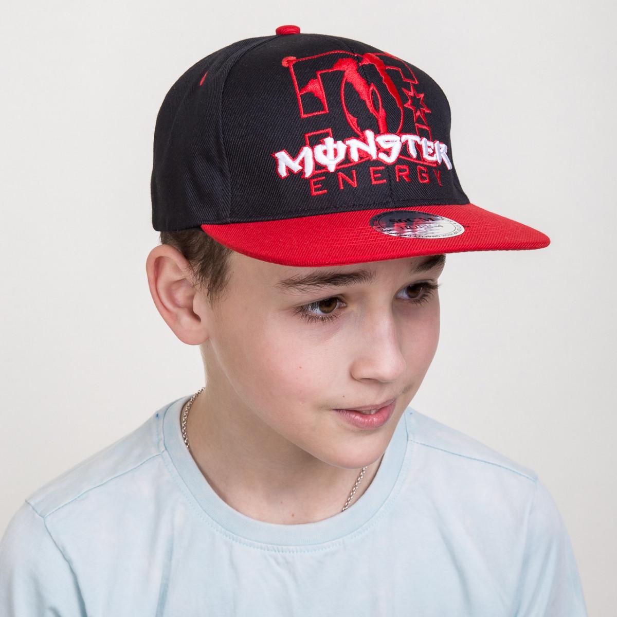 Кепка Snapback для мальчика от производителя - Monster - Б07