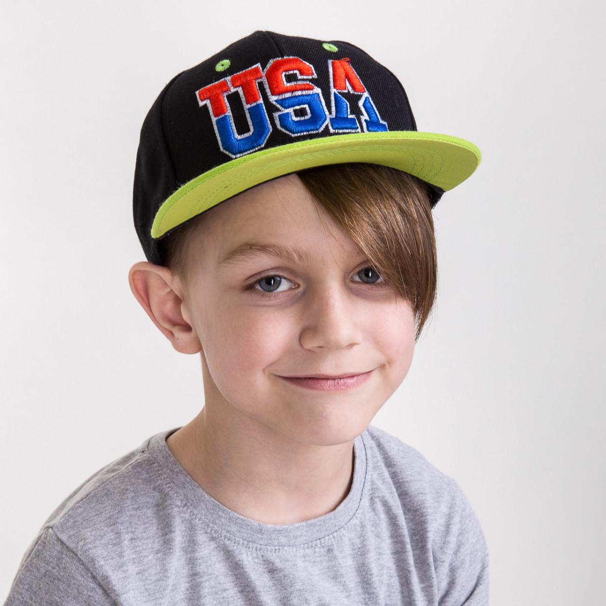 Кепка Snapback для мальчика от производителя - USA - Б13