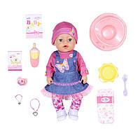 Кукла Zapf Baby Born серии Нежные объятия - Джинсовый лук 43 см (831298)