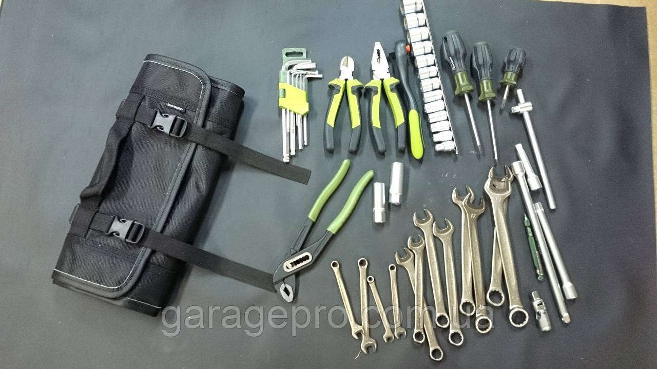 Двухслойная сумка скрутка для инструмента ToolRoll
