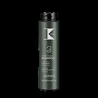 K-time Men Shampoo 3in1 укрепляющий, очищающий шампунь против перхоти 250мл