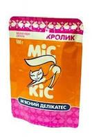 Мис Кис влажный корм для кошек 100 г (желе с кроликом)