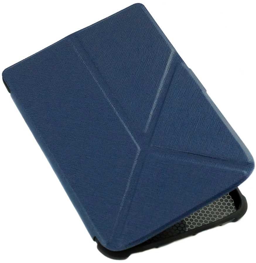 Чохол PocketBook 633 Color Moon трансформер — обкладинка для Покетбук синя