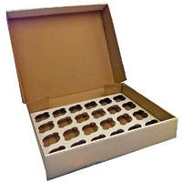 Коробка для кексов (24 шт)
