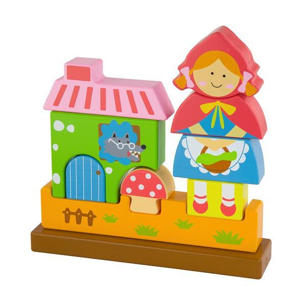 Магнитная деревянная игрушка Viga Toys Красная Шапочка (50075)