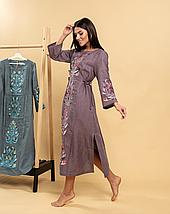 Платье вышиванка с орнаментом Тиса, фото 3
