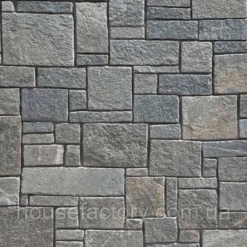 Кварцит Akrolithos Rock Face Flat Grey