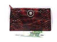Кожаный женский клатч Versace (10507), фото 1