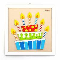 Набор для творчества Viga Toys Картина своими руками Торт (50684), фото 1
