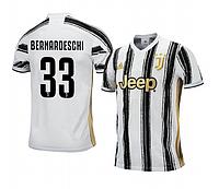 Футбольная форма Ювентус Bernardeschi (FC Juventus) 2020-2021 Домашняя Детская, фото 1